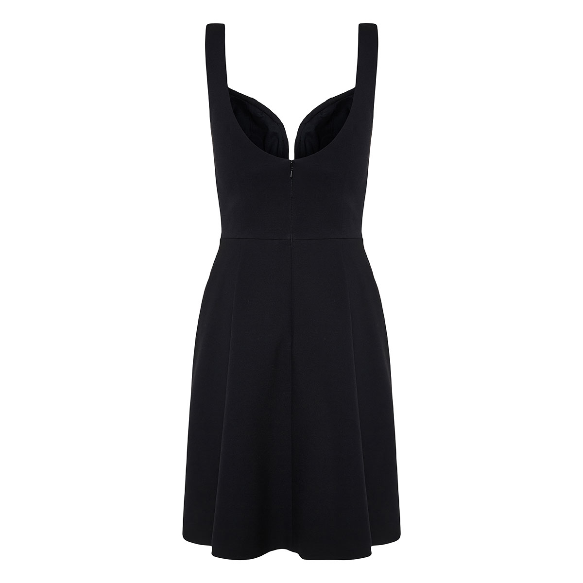 Asymmetric corset dress