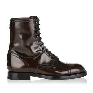 Michelangelo lace-up leather boots