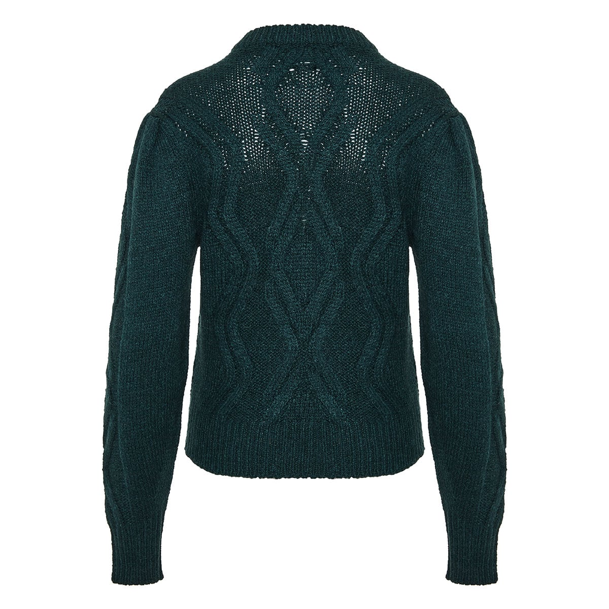 Devlyn cable-knitted sweater