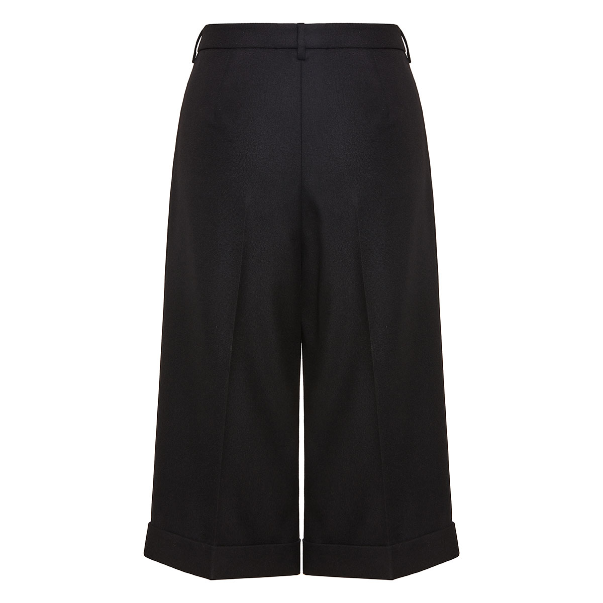 Long tailored bermuda shorts