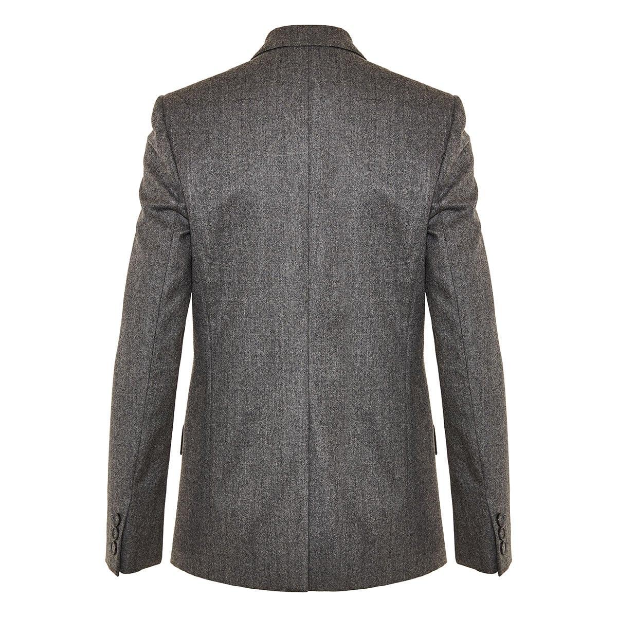 Bell single-breasted wool blazer
