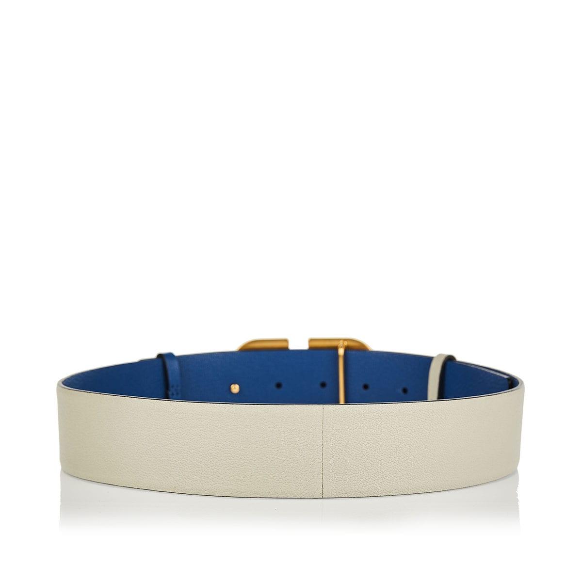 Vlogo reversible leather belt