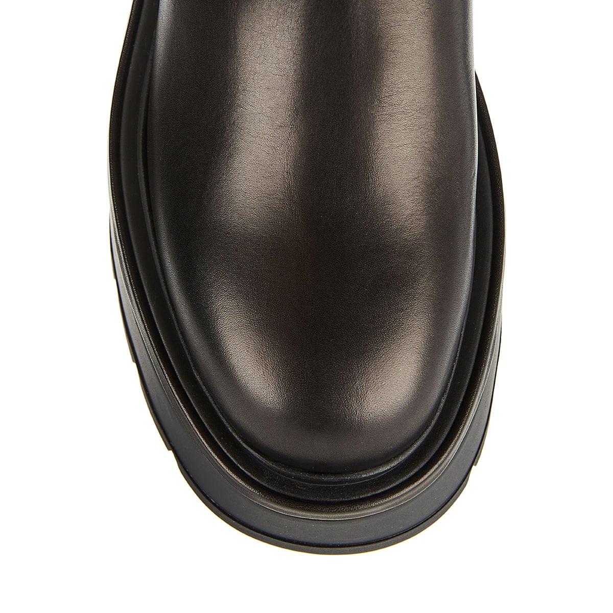 Uniqueform flatform ankle boots
