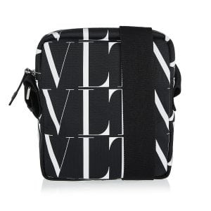 VLTN Times nylon crossbody bag