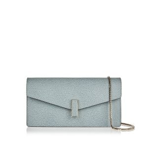 Iside Gioiello leather clutch
