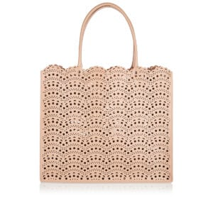 Garance 36 laser-cut leather tote