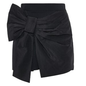 Bow knotted shorts