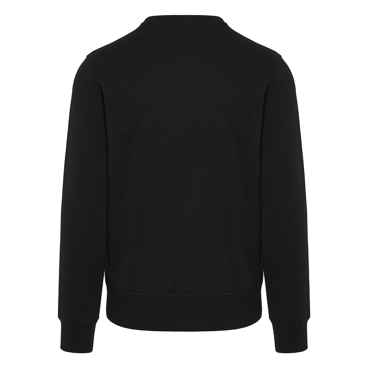 Skull embroidered sweatshirt