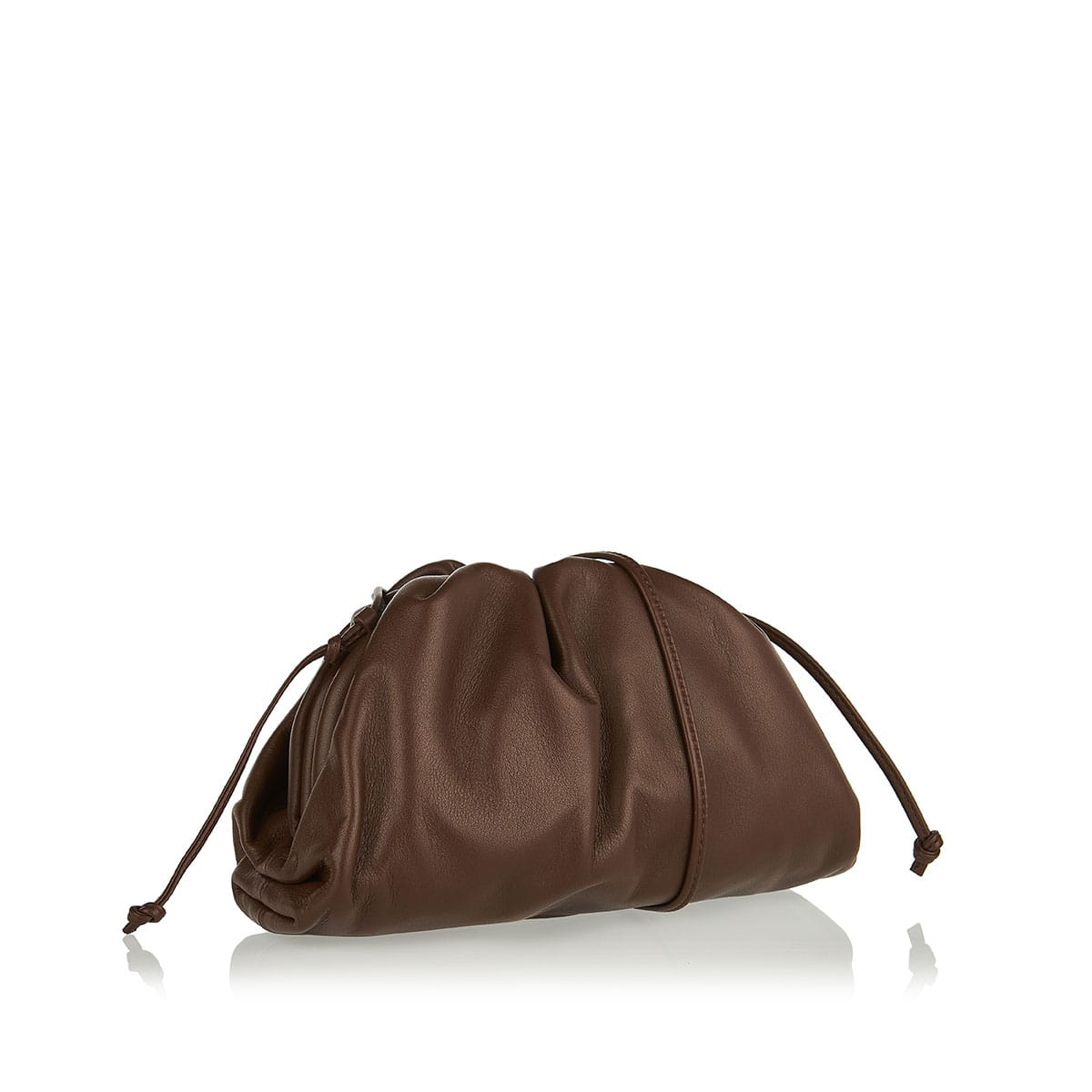 The Pouch mini leather clutch