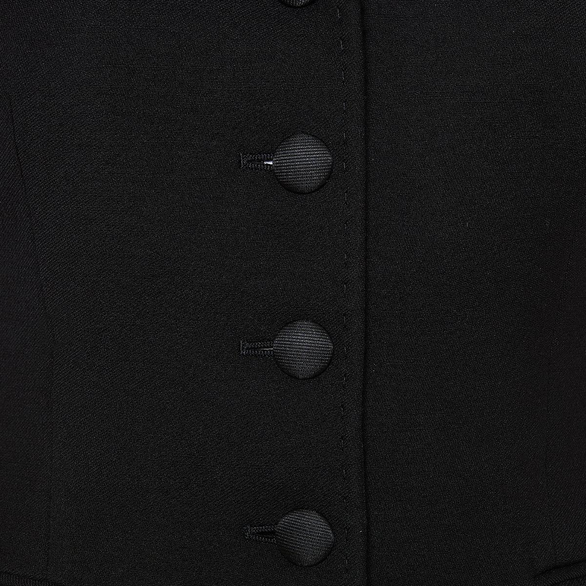 Wool peplum blazer