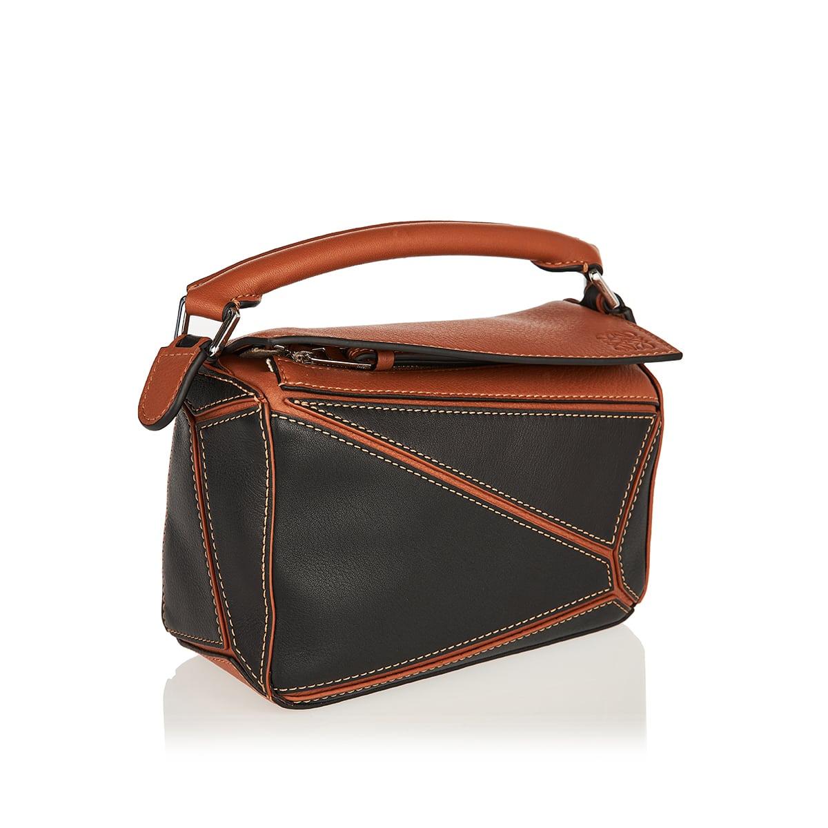 Mini Puzzle two-tone bag