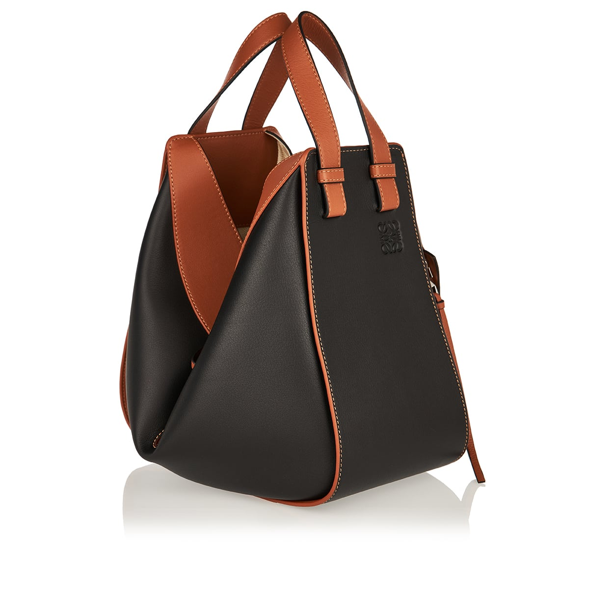Small Hammock two-tone bag