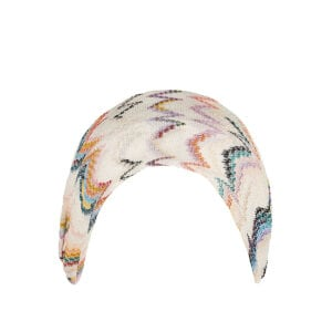Patterned knitted headband