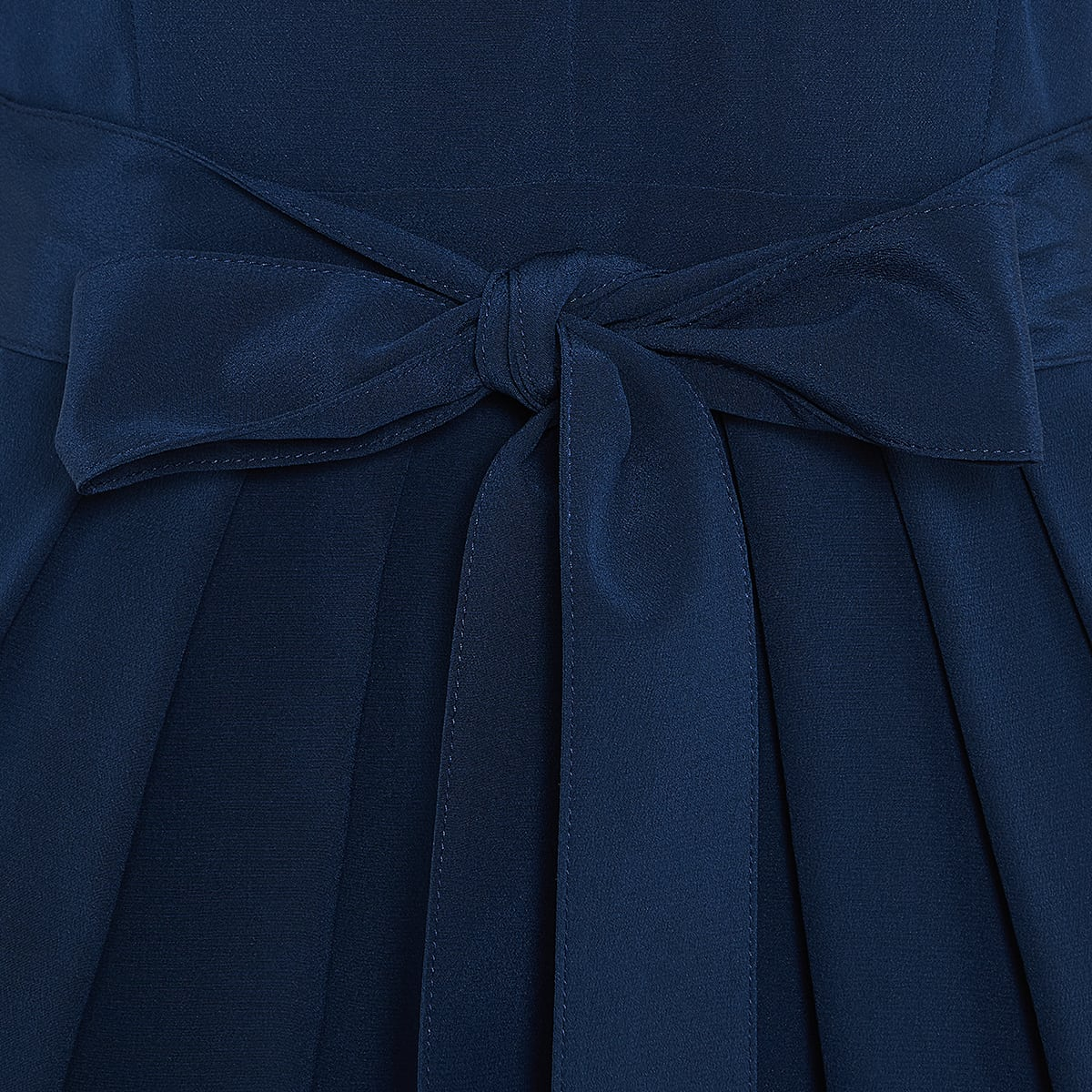 Jordan puff-sleeved mini dress