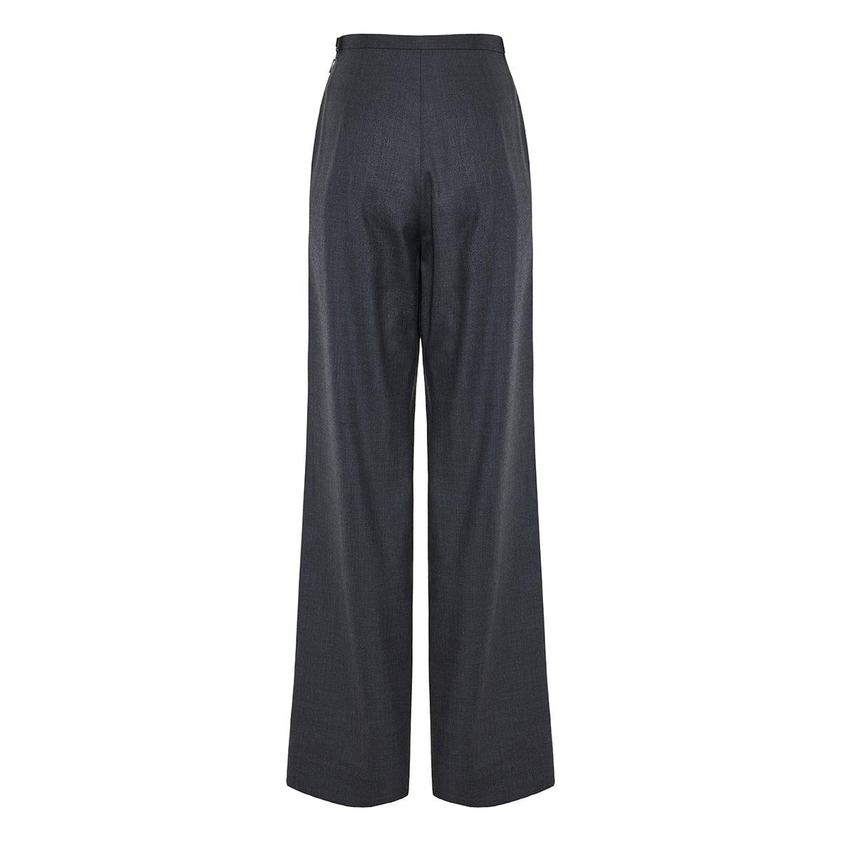 Roger wide-leg wool trousers