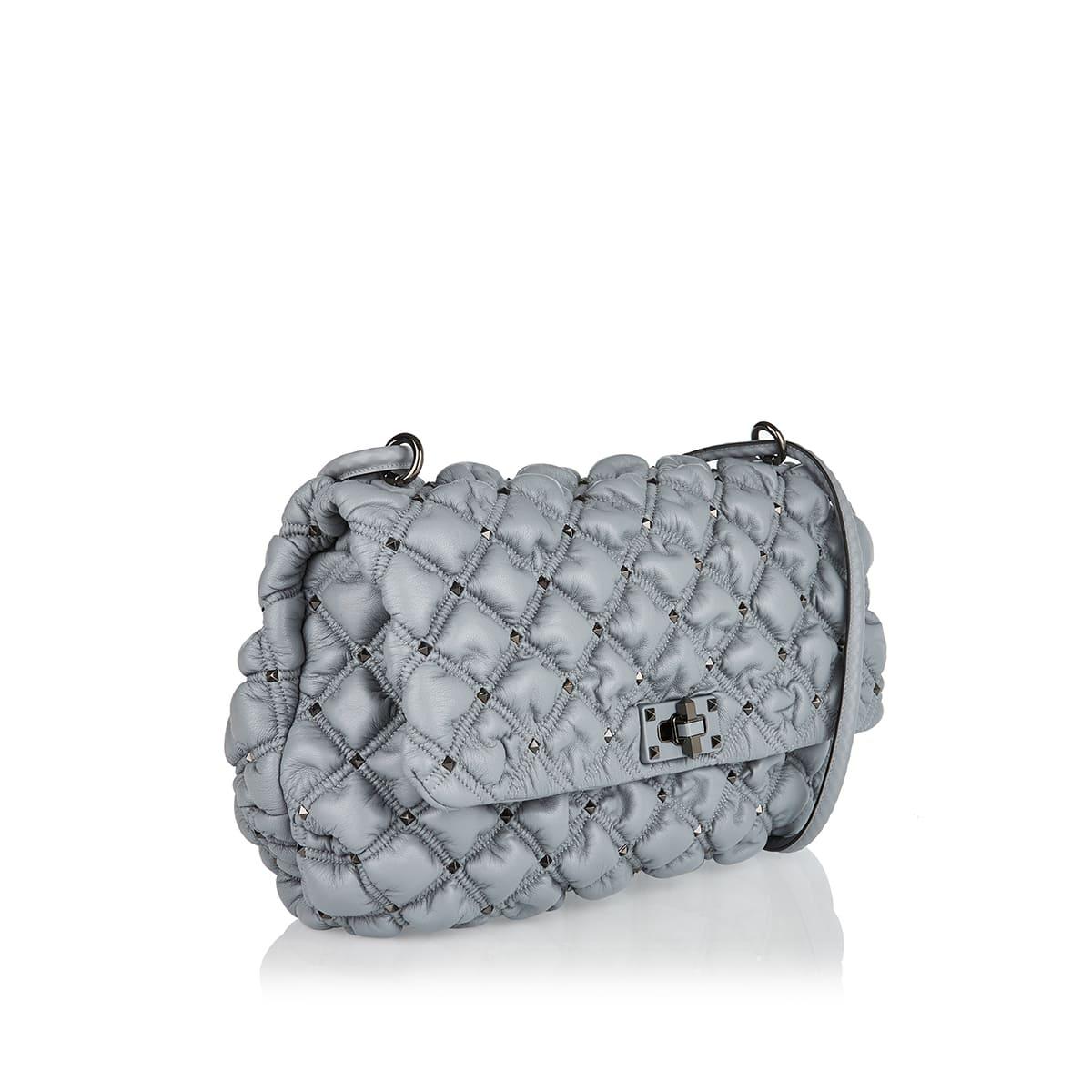 SpikeMe medium quilted bag