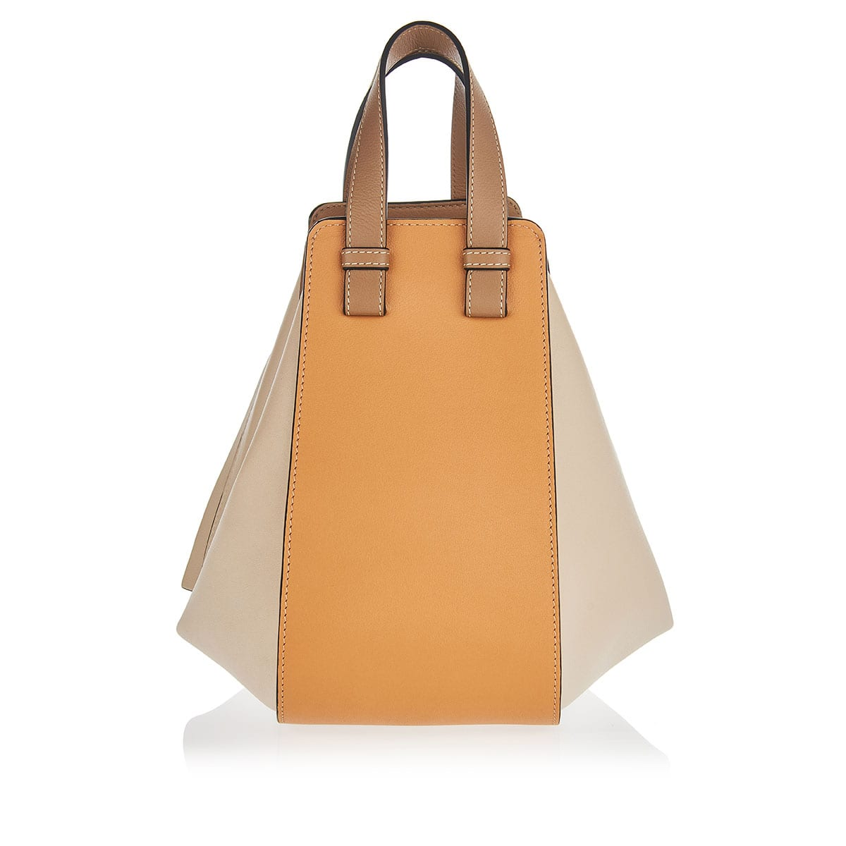 Hammock Small tricolor leather bag