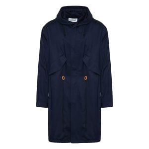Cotton parka coat