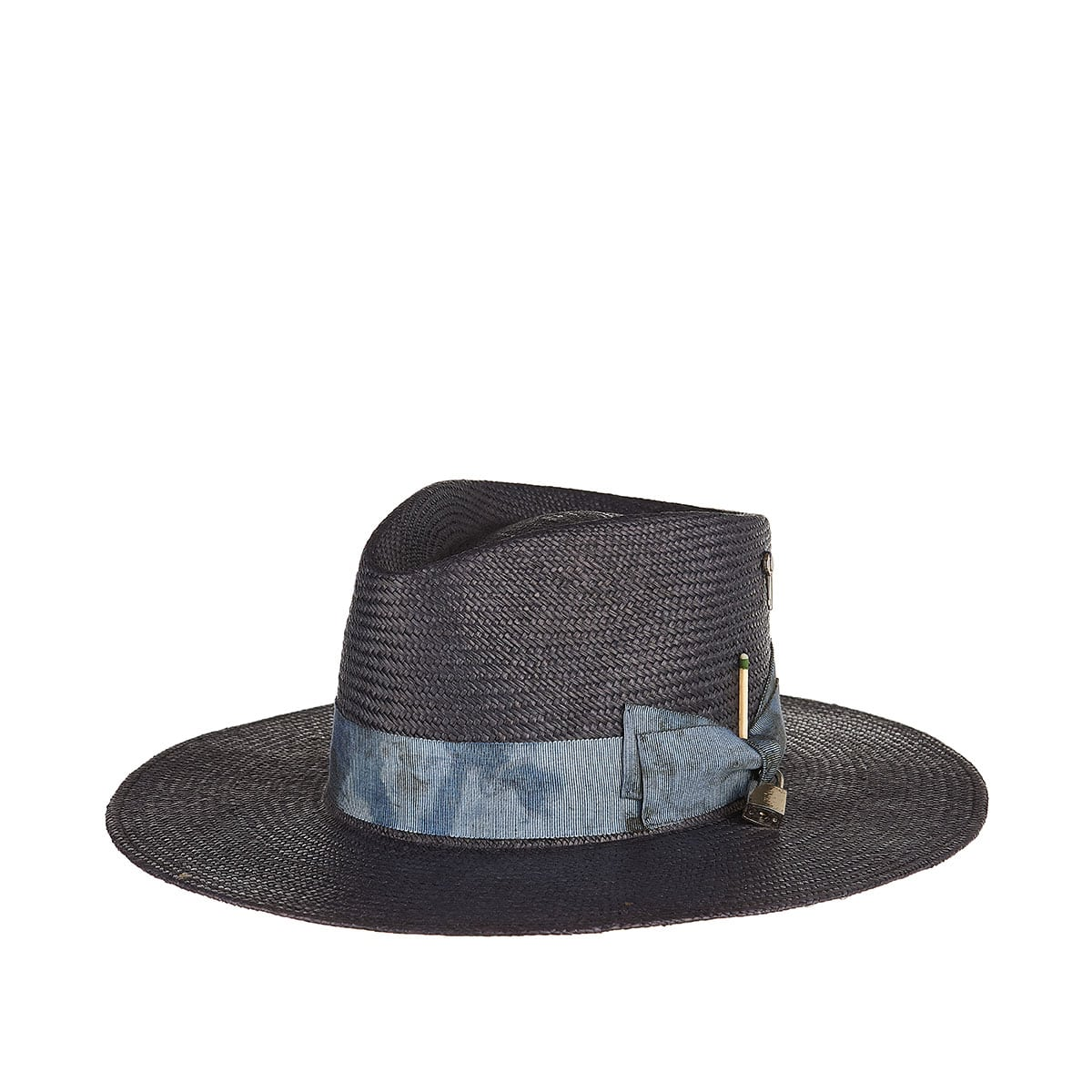 Cles straw fedora hat