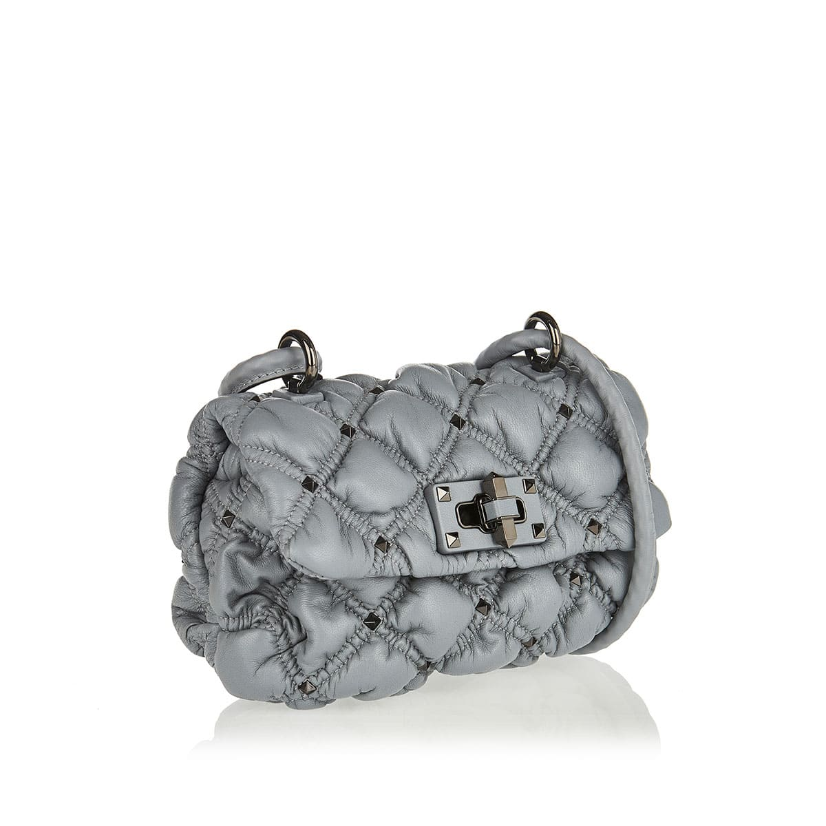 Spike Me small quilted bag