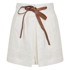 The Lovestruck linen shorts