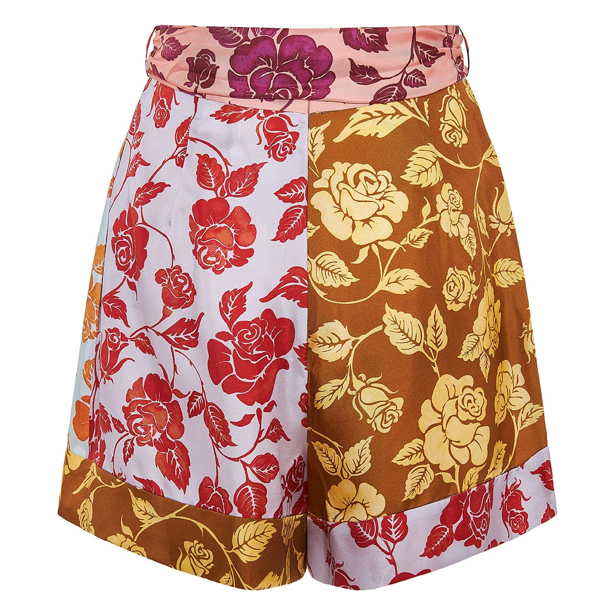 The Lovestruck patchwork floral shorts