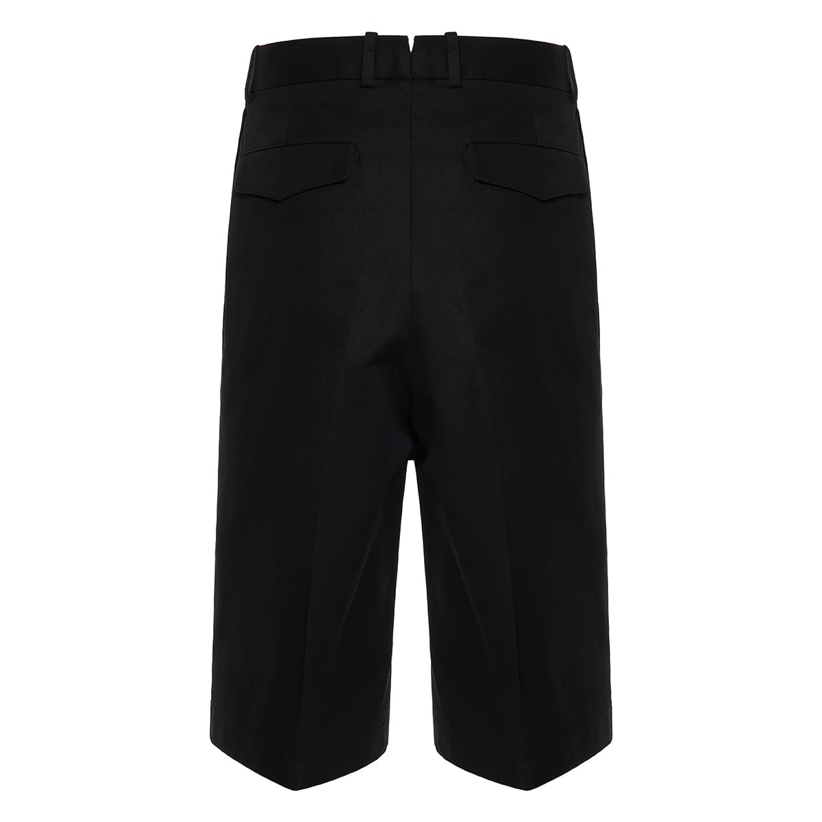 Baggy long tailored shorts