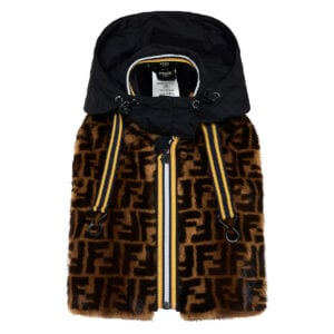 FF FENDI x K-Way® fur collar