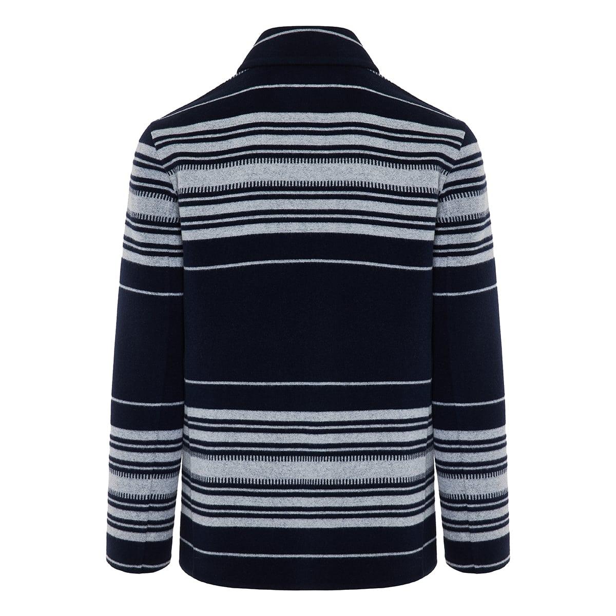 Striped workwear jacket