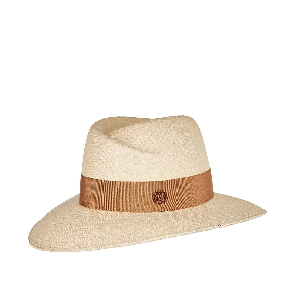 Virginie straw fedora hat
