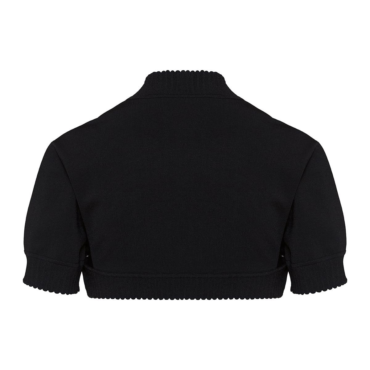 Bolero knitted top