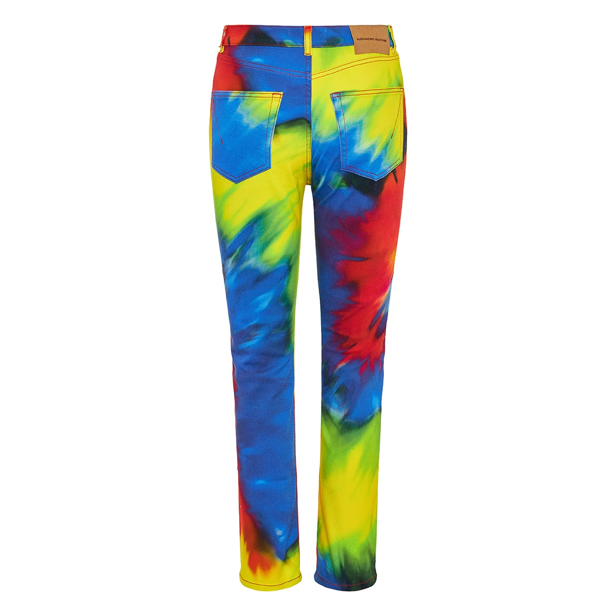 Tie-dye jeans