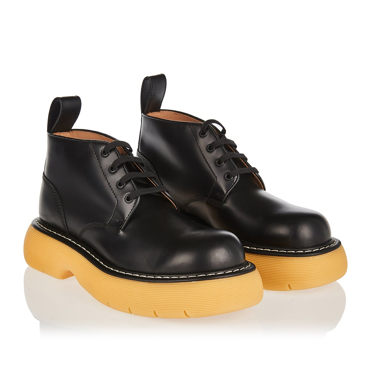 The Bounce leather ankle boots