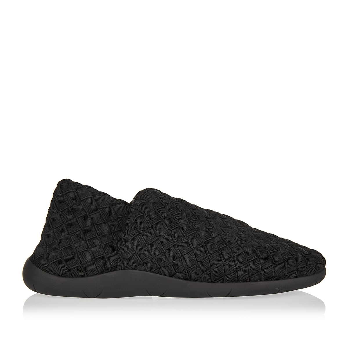 Intrecciato woven slip-on sneakers