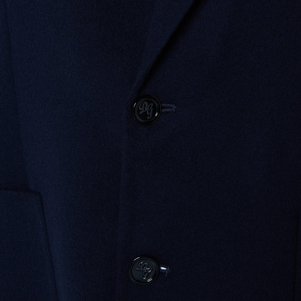 Single-breasted wool blazer