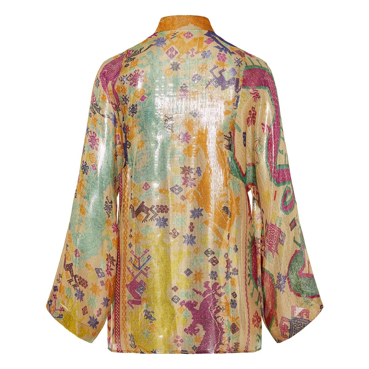 Laminated printed shirt