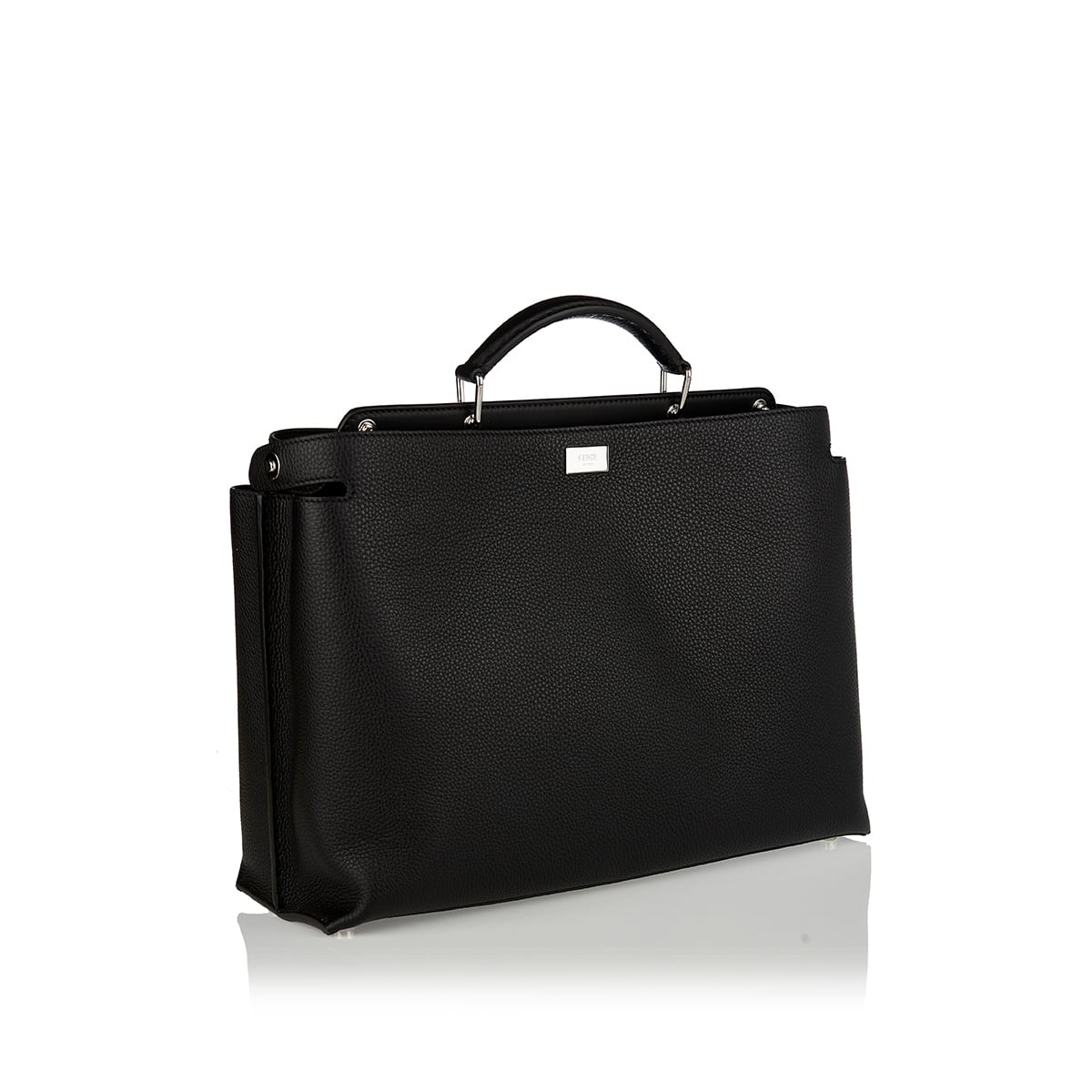 Peekaboo Iconic leather brief case