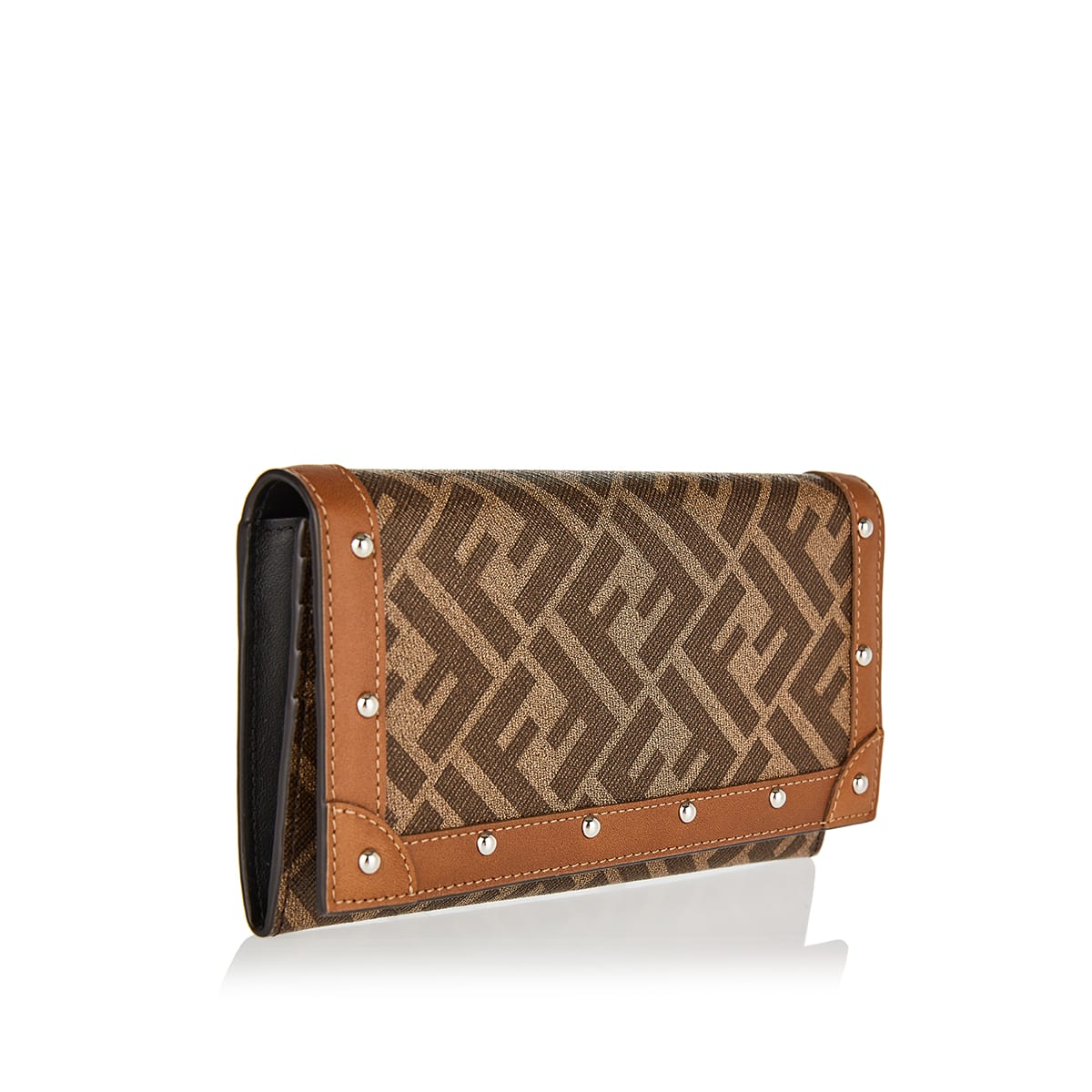 FF studded continental wallet