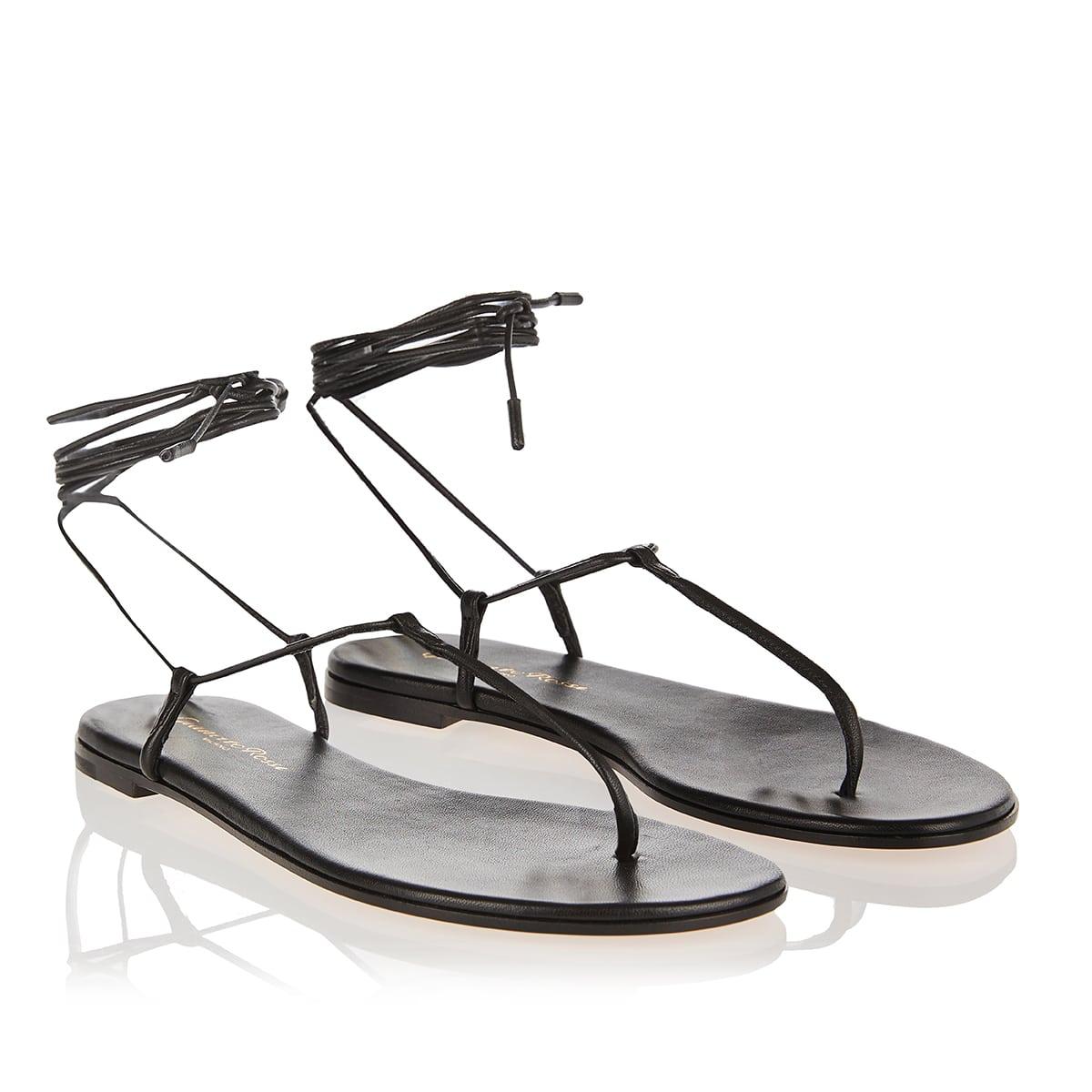Gwyneth leather thong sandals