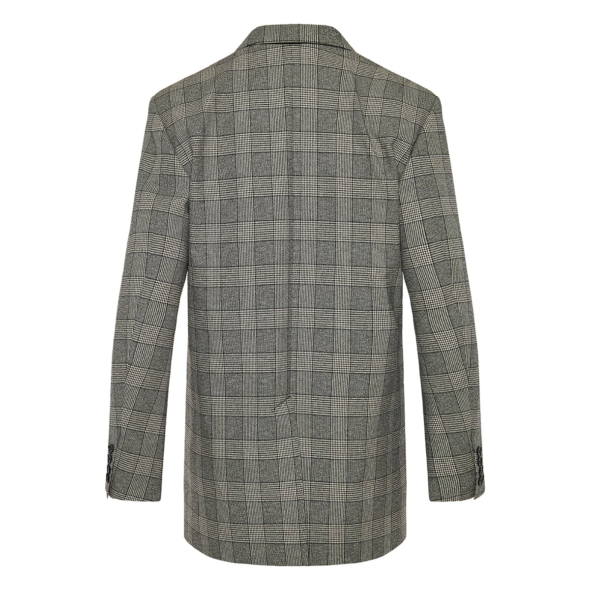 Oladim oversized checked blazer