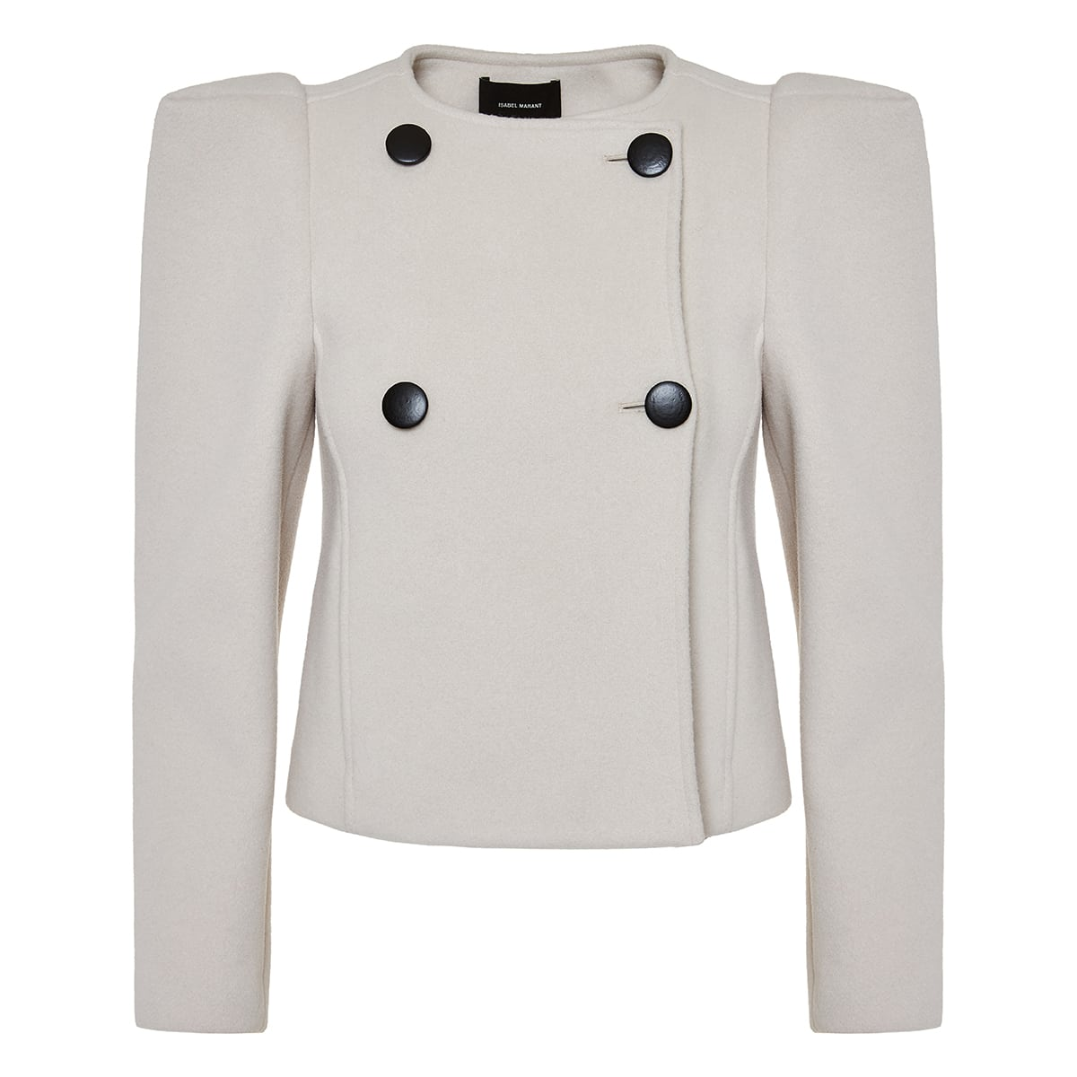 Fileali puff-sleeved wool jacket