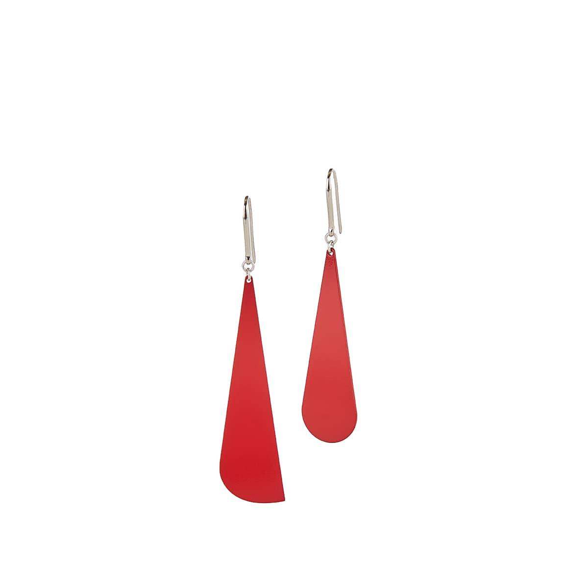 Color drop earrings