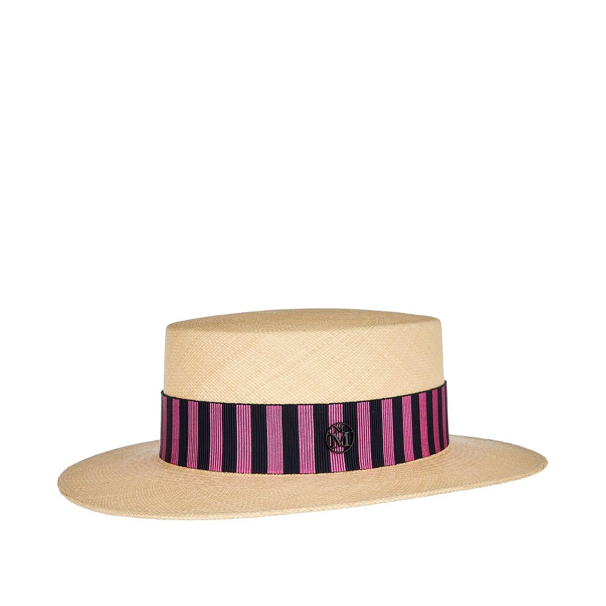 Kiki straw canotier hat