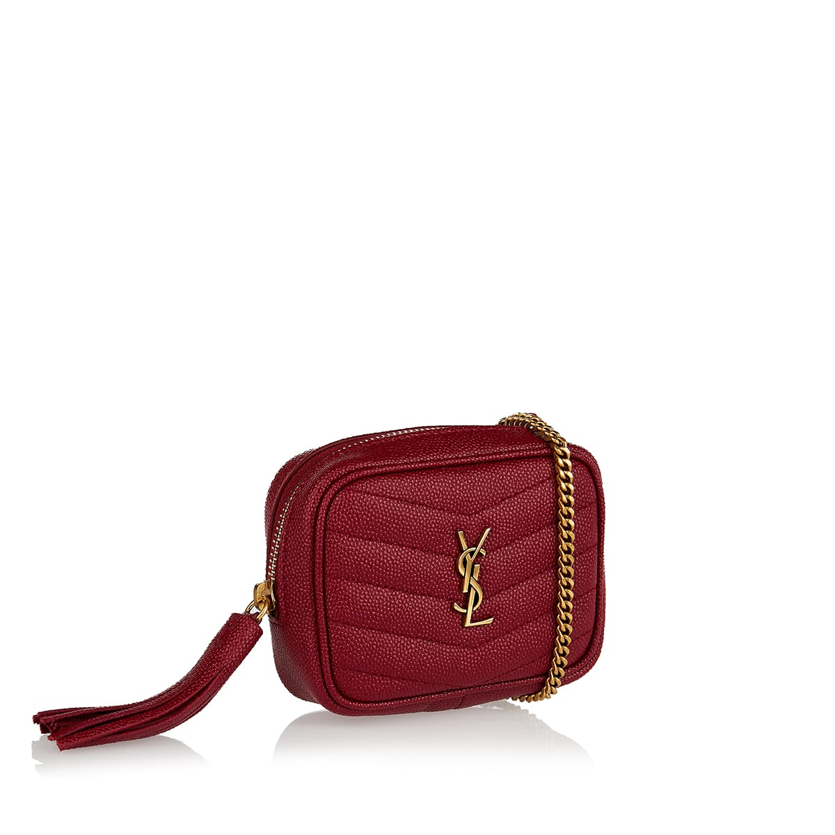 Lou baby quilted leather bag