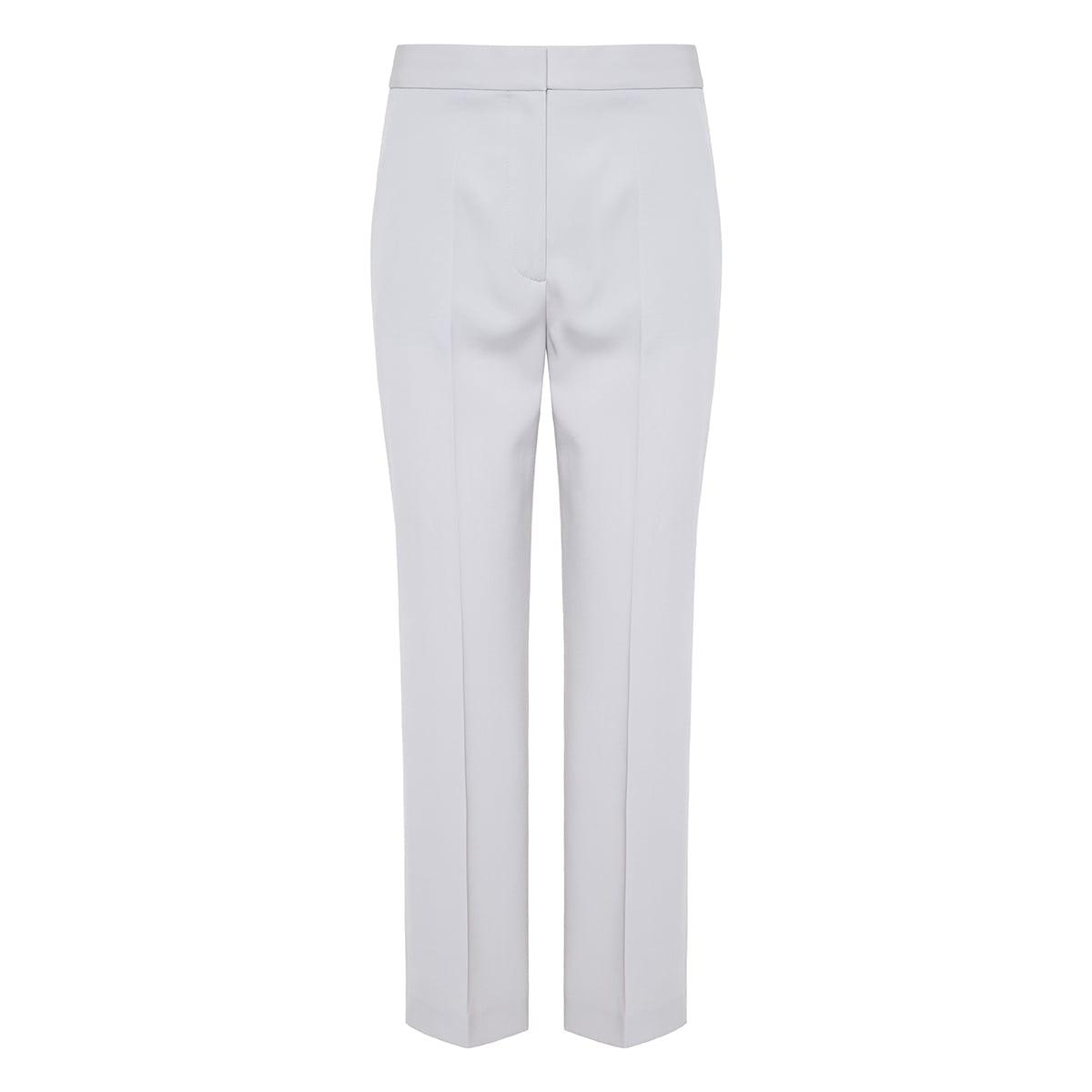 Carlie cropped wool trousers