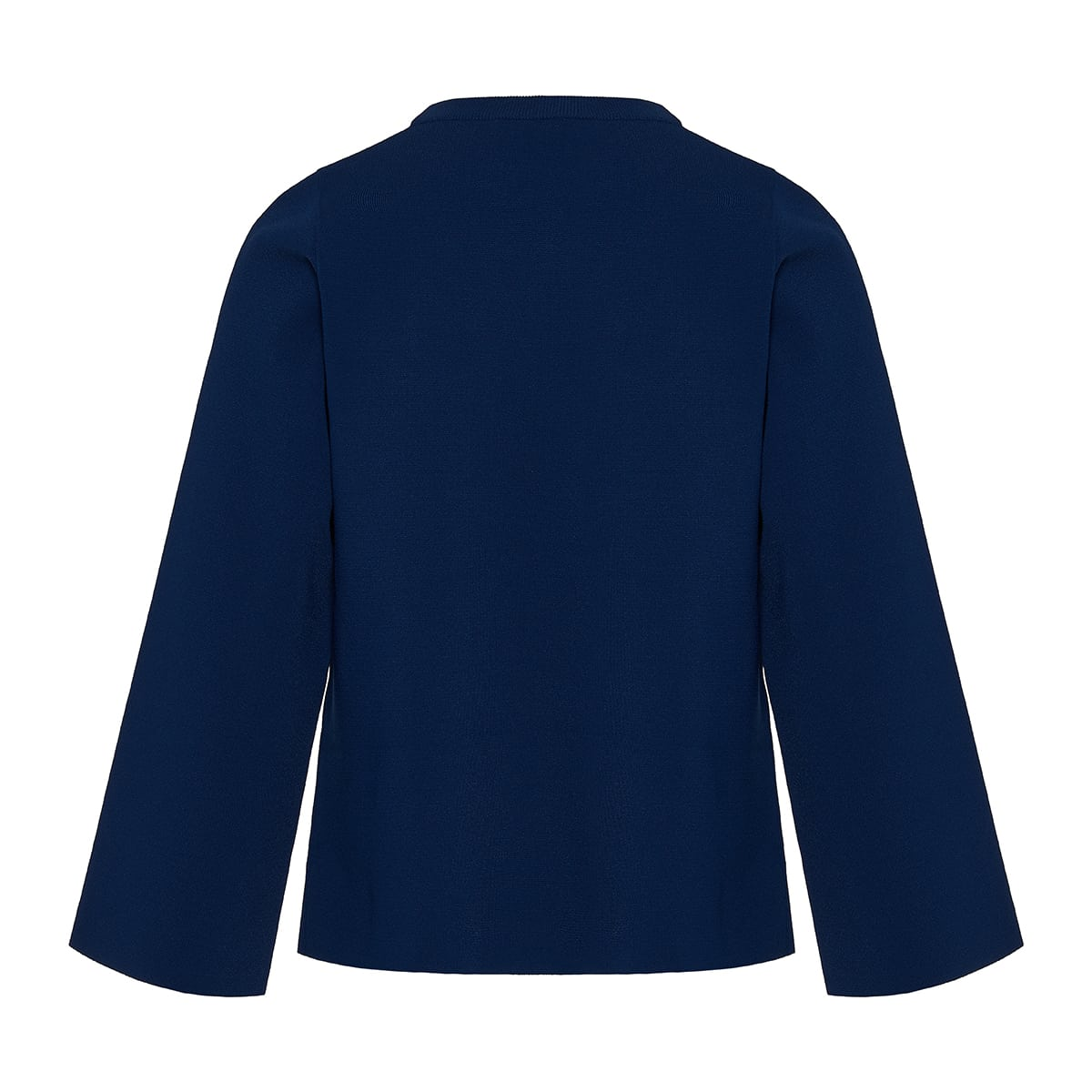 Cutout knitted blouse