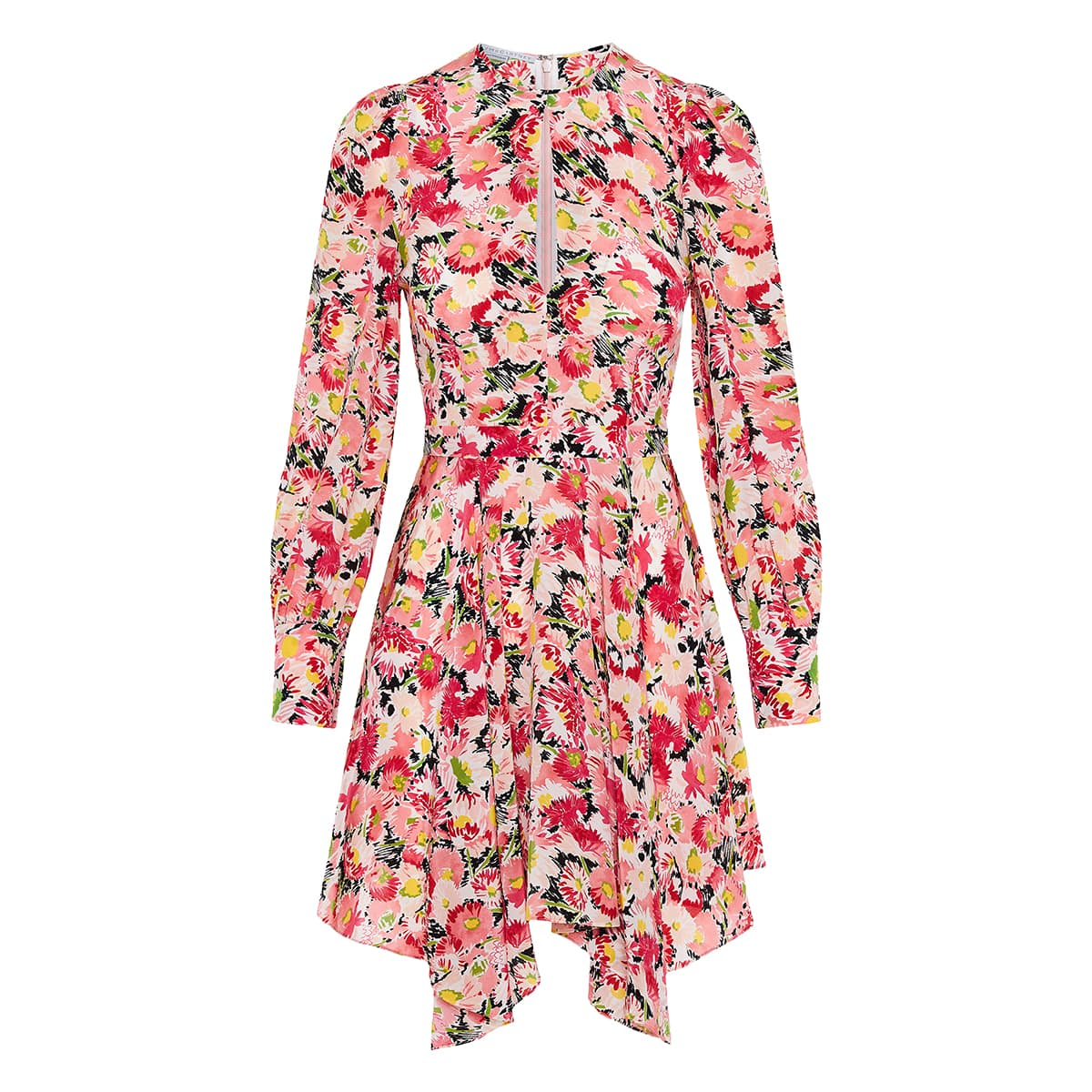 Felicity asymmetric floral dress