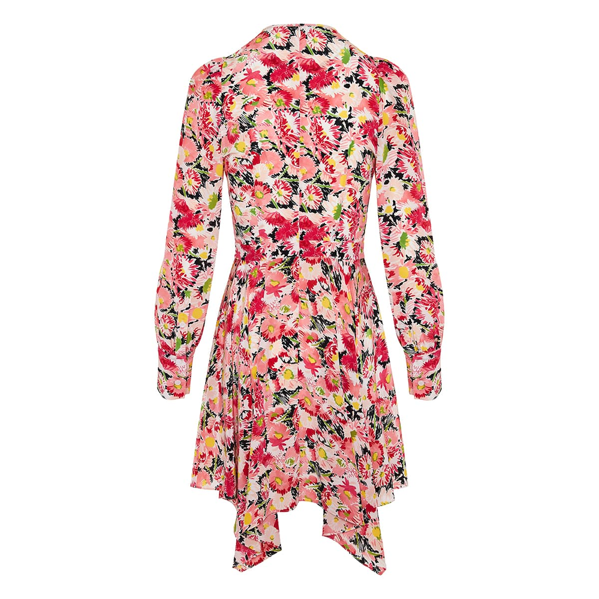 Felicity asymmetric floral dress