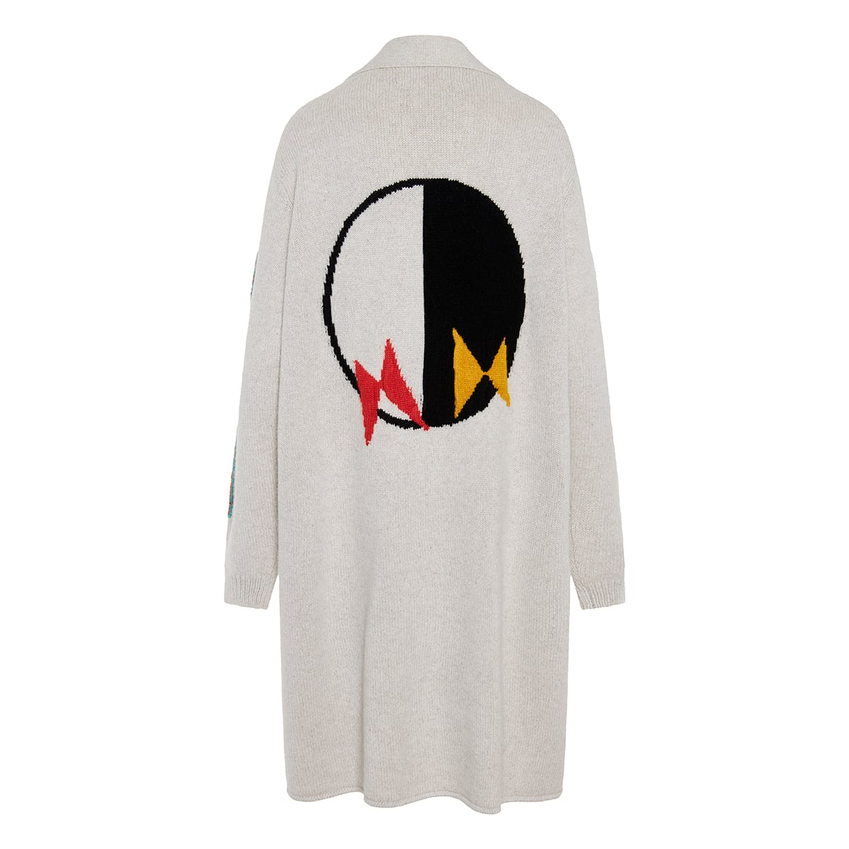 Light and Darkness oversized cardigan