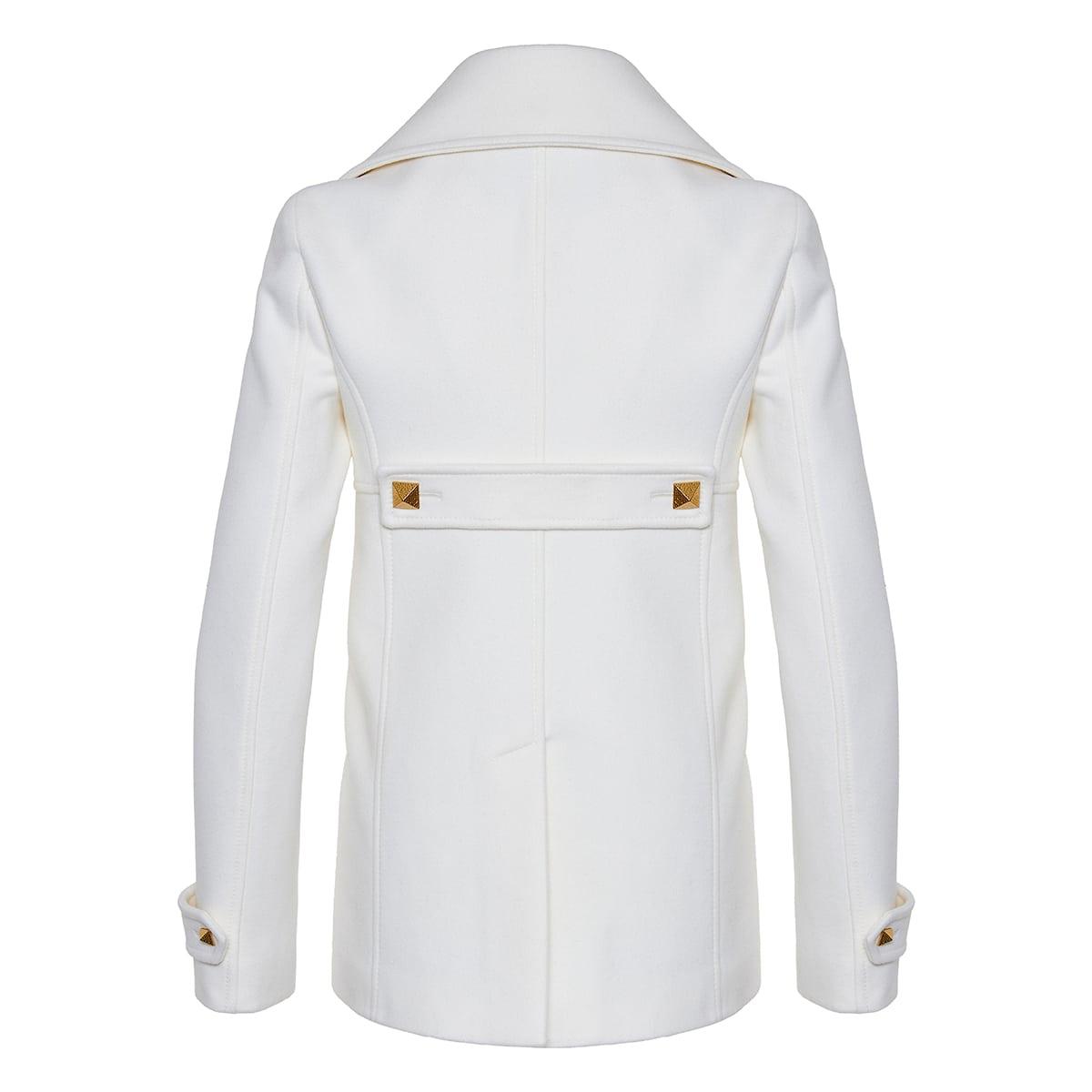 Roman Stud pea coat